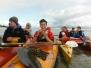 Jugendgruppe Zelttour auf der Elbe