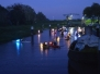 Lampionfahrt auf der Wilsterau einmal anders